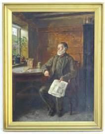 Walter Tomlinson (c.1833 - 1909), English School,  Oil