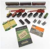 Toys A quantity of Meccano Ltd Hornby Dublo train