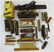 A collection of vintage workshop carpentrywoodworking