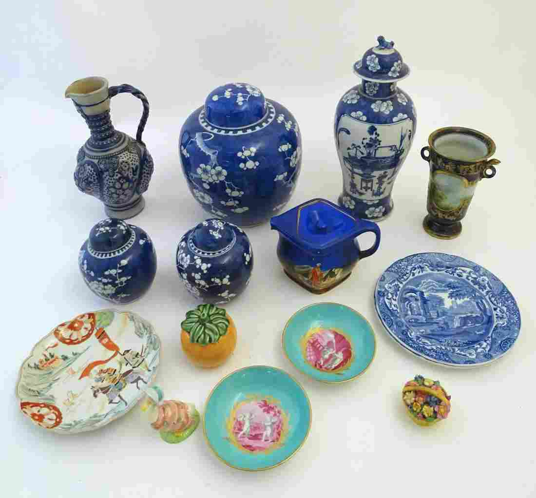 A quantity of assorted ceramics to include a Chinese