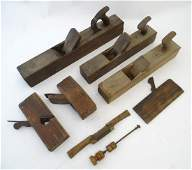 An assortment of early 20thC carpentry woodworking