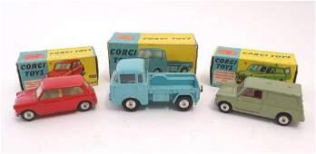 Toys: Three Corgi Toys die cast scale model vehicles /