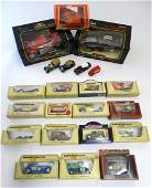 Toys: A quantity of assorted boxed die cast scale model