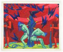 R. A. Wilson, ARCA (1884-1979), Watercolour,