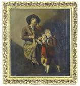 19th century, Continental School, Oil on canvas, A chef