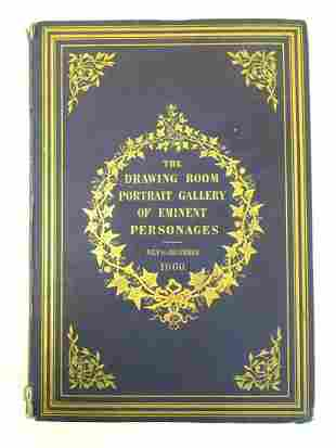 Book: The Drawing Room Portrait Gallery of Eminent