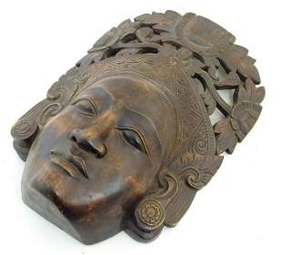 Ethnographic / Native / Tribal: A carved Indonesian