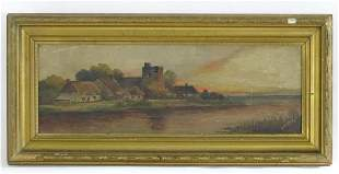 Indistinctly signed K. O'Malley, 19th / 20th century,