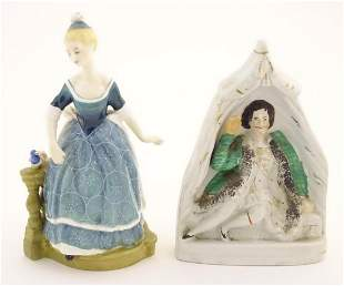 A Staffordshire pottery theatrical figure, Garrick as