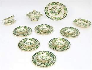 A quantity of Mason's dinner wares in the pattern