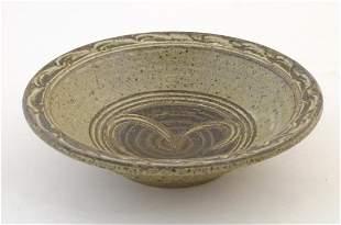 A Peter Arnold, Alderney studio pottery stoneware bowl.