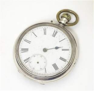 A Victorian pocket watch by John Bennett, London, Maker