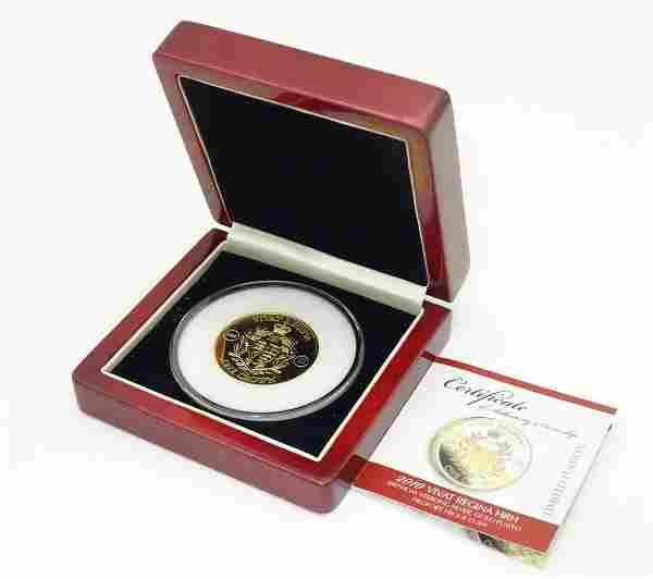 Coin: A limited edition Elizabeth II Vivat Regina