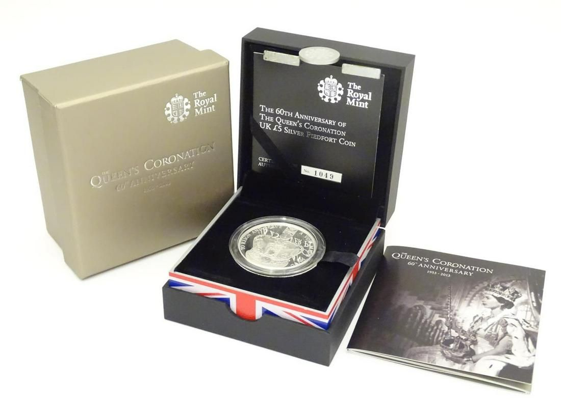 Coin: A Royal Mint 2013 limited edition sterling silver