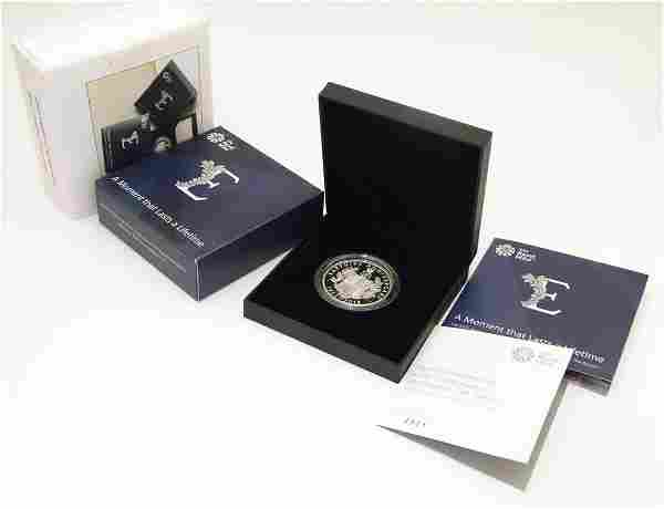 Coin: A Royal Mint 2018 limited edition sterling silver