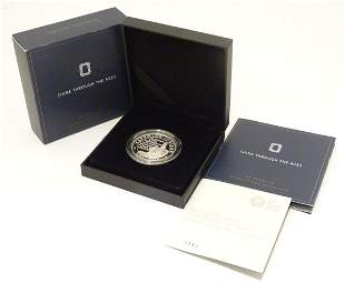 Coin: A Royal Mint 2017 limited edition sterling silver