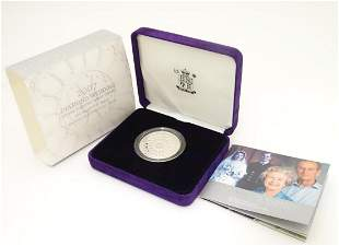 Coin: A Royal Mint 2007 limited edition sterling silver