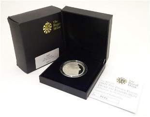 Coin: A Royal Mint 2011 limited edition sterling silver