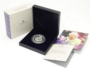 Coin: A Royal Mint 2021 limited edition sterling silver