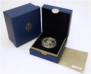 Coin: A Royal Mint 2012 limited edition sterling silver