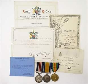 Militaria: A WWI / First World War / World War 1 medal