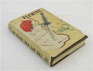 Book: The Spy Who Loved Me by Ian Fleming. Published by