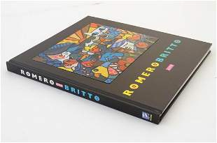 Book: Romero Britto - Life. Published by Threefold