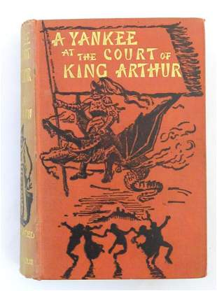 Book: A Yankee at the Court of King Arthur by Mark