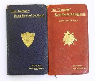 Books / Maps: The Contour Road Book of England, South