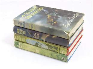 Books: Four Agatha Christie novels published by The