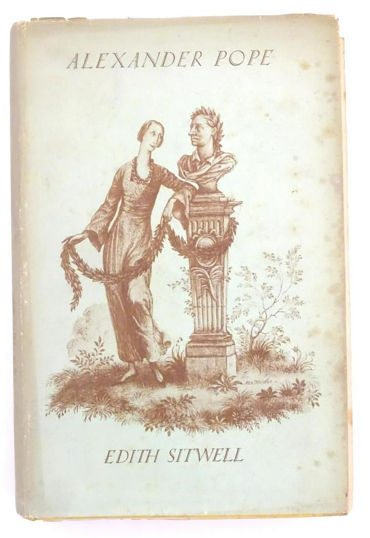 Book: Alexander Pope by Edith Sitwell, First Edition.