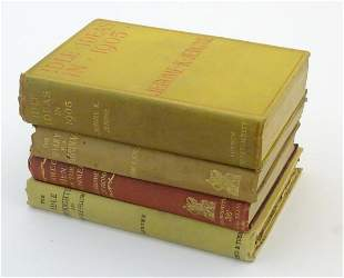 Books: Four titles by Jerome K. Jerome comprising The