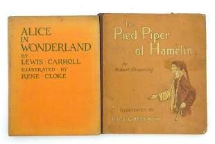 Books: Two children's books comprising Alice in