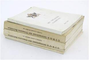 Books: A quantity of exhibition catalogues to include