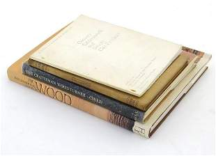 Books: Four books on the subject of wood, titles