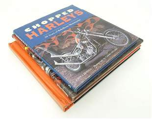 Book: Three books on the subject of motorcycles,