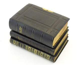 Books: Three books on religion, comprising The Book of