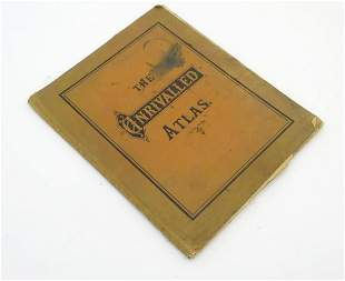 Map / Book: The Unrivalled Atlas. Published by W. & A.