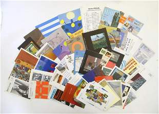 A large quantity of St Ives School Artist exhibition