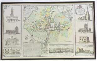 Map: A late 20thC plan of the town of Northampton after