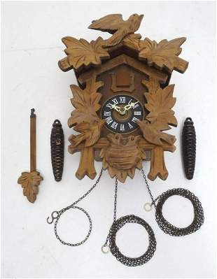 A 20thC Cuckoo clock marked West Germany, G.M and