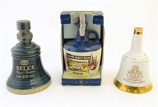 A c1980 Wade ceramic decanter of Bell's Royal Reserve