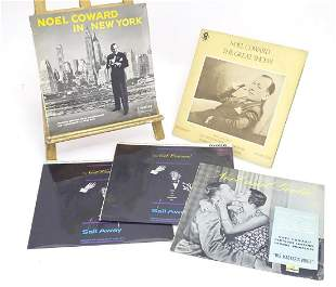 A collection of 20thC 33 rpm Vinyl records / LPs, Noel