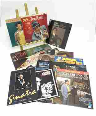 A collection of 20thC 33 rpm Vinyl records / LPs, Dean