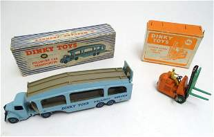 Toys: Two boxed 20thC Dinky Toys die cast scale model