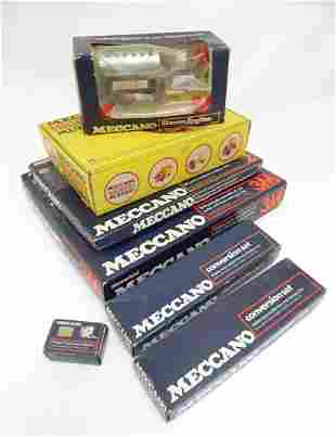 Toys: A quantity of boxed Meccano, comprising a Magic