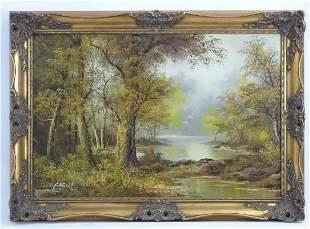 Irene Cafieri, Late 20th century, Oil on canvas, A