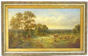 Henry Harris (1852-1926), English School, Oil on