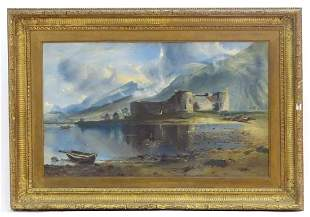 19th century, Continental School, Oil on canvas, A