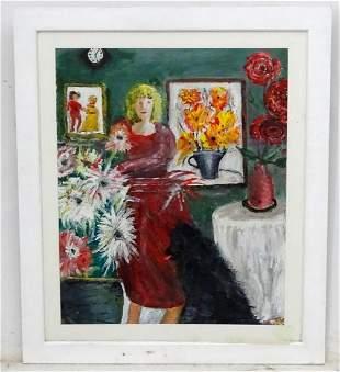 Roy Davey, 20th century, Oil on canvas board, A